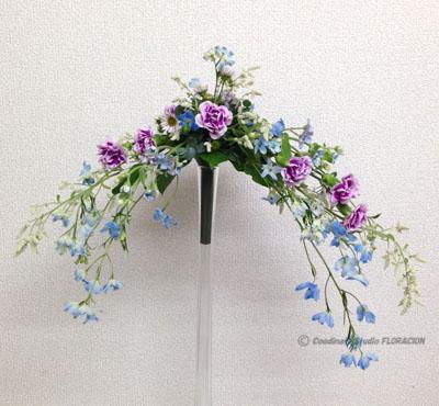 フレッシュフラワー 生花 ブーケ 非対称形