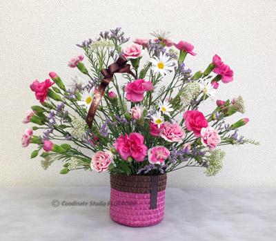 フレッシュフラワー 生花 アレンジメント 母の日