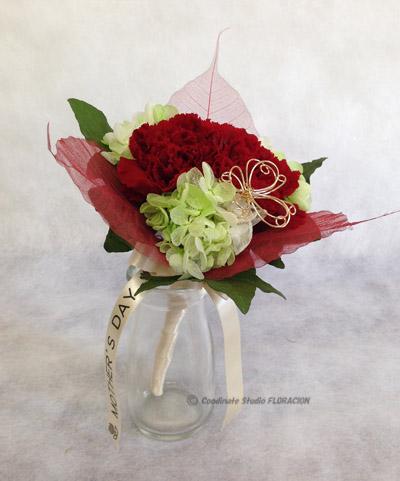 プリザーブドフラワー 花束 母の日