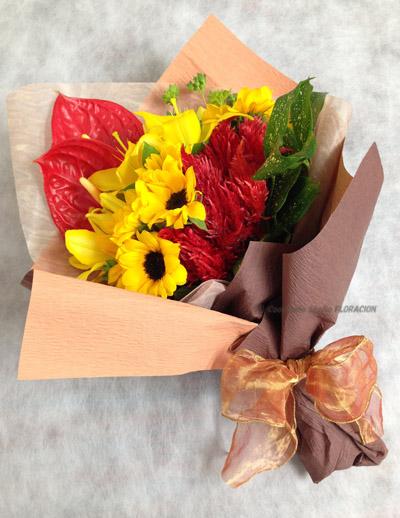 フレッシュフラワー 生花 贈呈用花束
