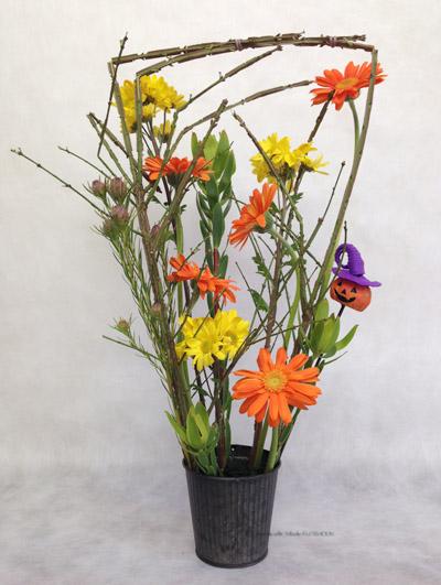 ハロウィン フレッシュフラワー 生花 アレンジメント