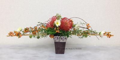 生花 フラワーアレンジメント 秋