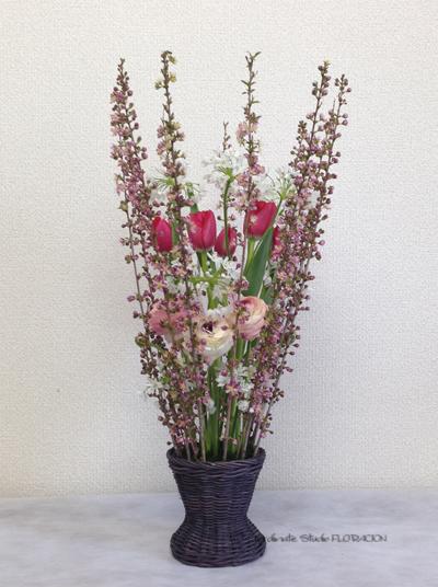 生花 フレッシュフラワー イースターアレンジメント