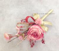 プリザーブドフラワー 造花 手作り ブトニア 桜 バラ