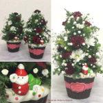 クリスマスアレンジメント 生花(フレッシュフラワー)
