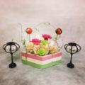 プリザーブドフラワー 雛祭り アレンジメント