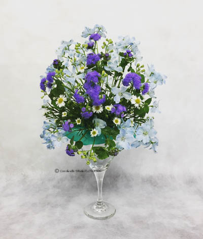 フラワーアレンジメント 生花 オーバル