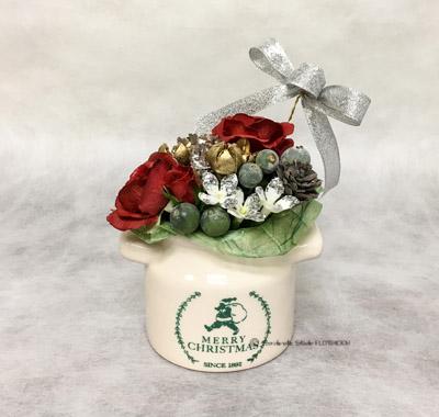 クリスマスアレンジメント アーティフィシャルフラワー(造花)