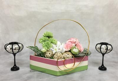 造花 フラワーアレンジメント ひな祭り
