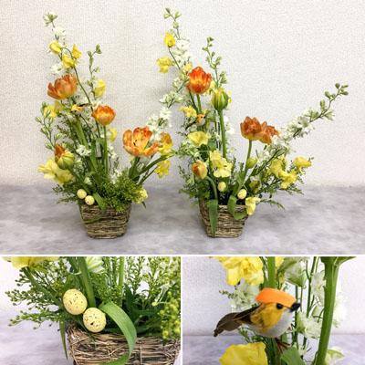 イースター 生花 フラワーアレンジメント 大阪